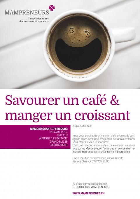Café croissant à Romont – la rencontre des nouvelles