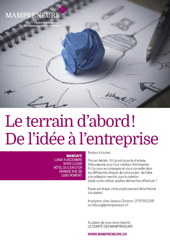 Le terrain d 39 abord de l 39 id e l 39 entreprise mampreneurs for Idee entreprise de service